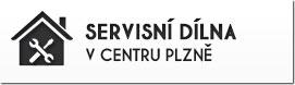 Servisní dílna v centru Plzně s možností zaparkovat přímo před vchodem