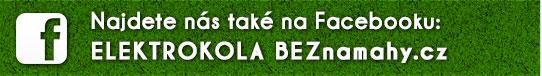 Najdete nás také na Facebooku - ELEKTROKOLA BEZnamahy.cz