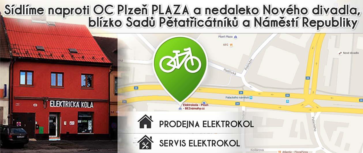 Sídlíme naproti OC PLAZA v Plzni