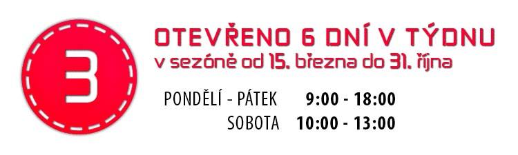 Otevírací doba prodejny elektroko v Plzni