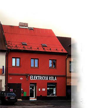 Prodej a servis elektrokol - naše prodejna v centru Plzně